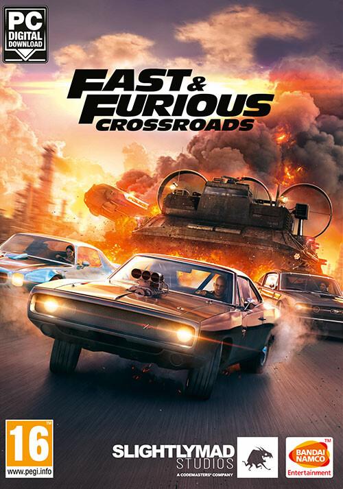 Fast & Furious Crossroads - Cover / Packshot