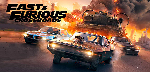 FAST & FURIOUS CROSSROADS - Cover / Packshot