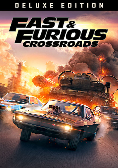 Fast & Furious Crossroads - Deluxe Edition - Cover / Packshot