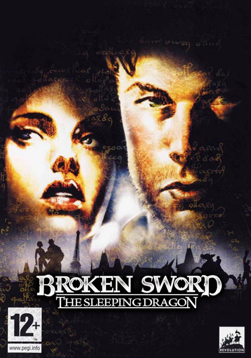 Broken Sword 3 - the Sleeping Dragon - Cover / Packshot