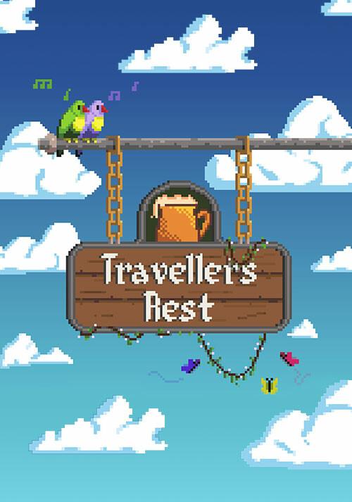 Travellers Rest - Cover / Packshot
