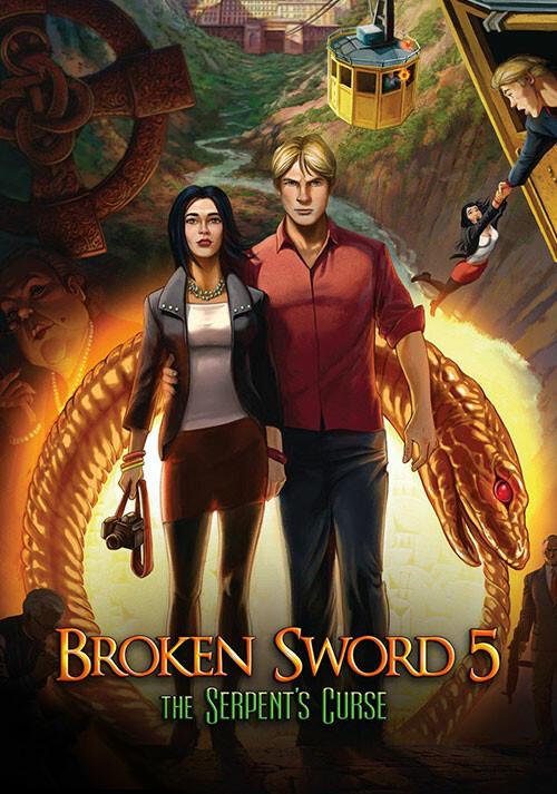 Broken Sword 5 - the Serpent's Curse - Cover / Packshot