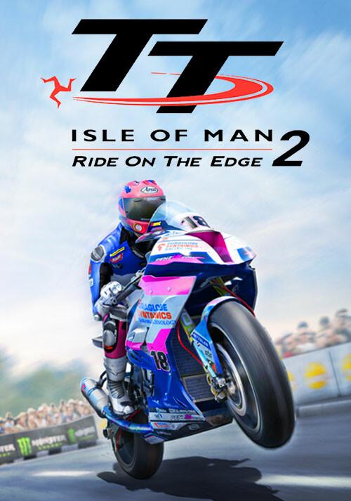 TT Isle of Man - Ride on the Edge 2 - Cover / Packshot