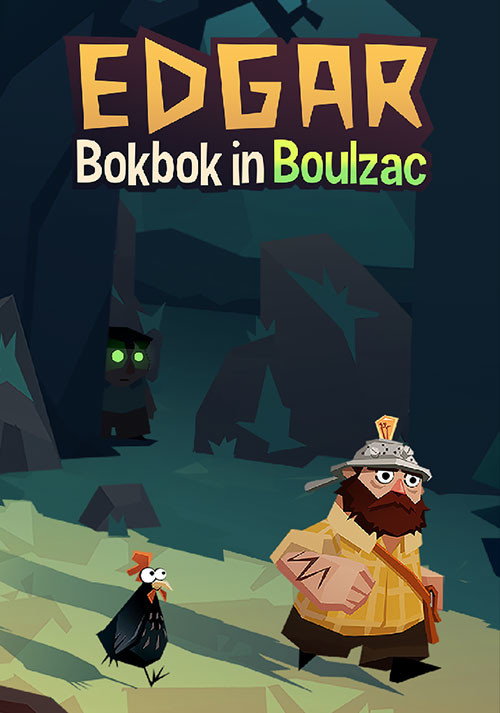 Edgar - Bokbok in Boulzac - Cover / Packshot