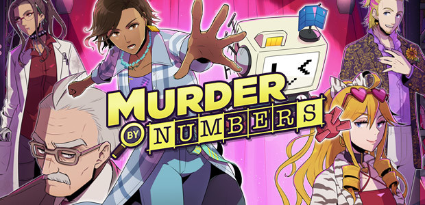 Murder by Numbers - Cover / Packshot