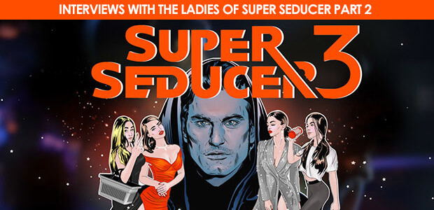 Super Seducer 3 - Interviews with the Ladies of Super Seducer - Part 2 - Cover / Packshot