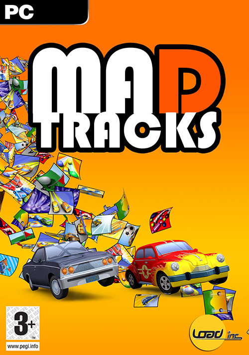Mad Tracks - Cover / Packshot