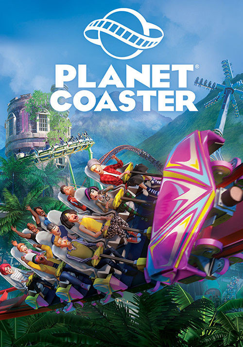 Planet Coaster - Cover / Packshot