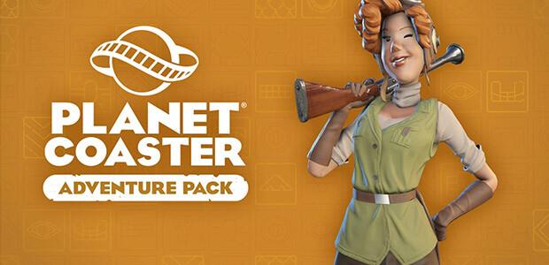Planet Coaster - Adventure Pack - Cover / Packshot