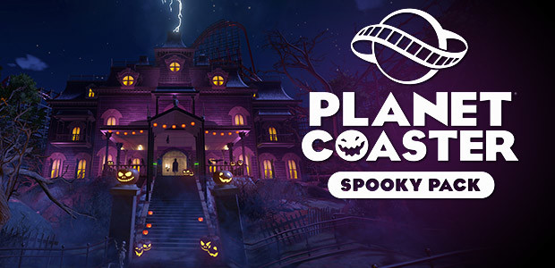 Planet Coaster - Spooky Pack - Cover / Packshot
