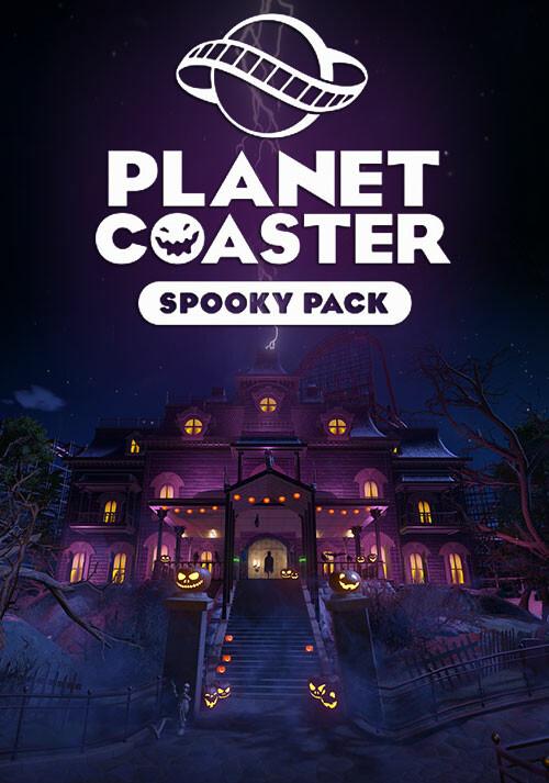 Planet Coaster - Spooky Pack - Cover / Packshot
