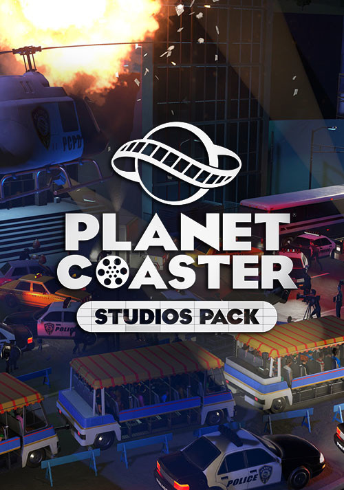 Planet Coaster - Studios Pack - Cover / Packshot