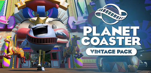 Planet Coaster - Vintage Pack - Cover / Packshot
