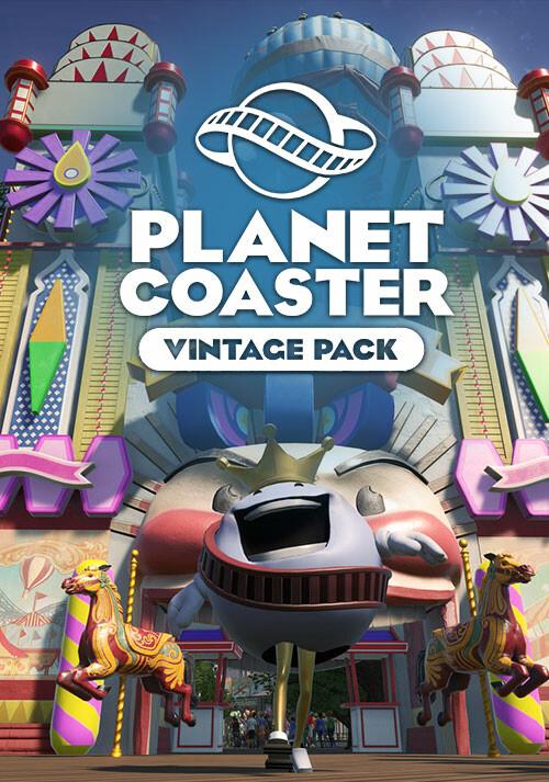 Planet Coaster - Vintage Pack - Cover / Packshot