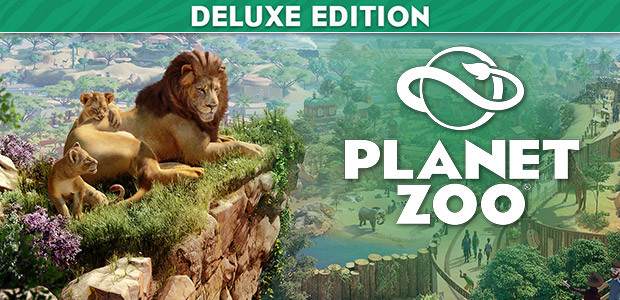 Planet Zoo Deluxe Edition - Cover / Packshot