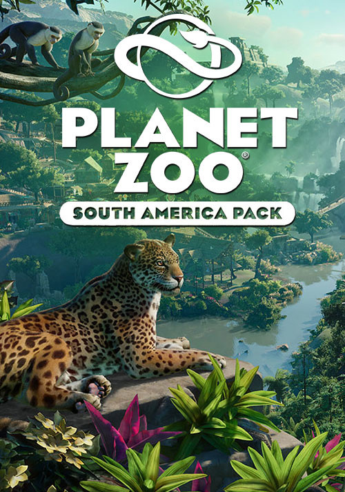 Planet Zoo: South America Pack - Cover / Packshot