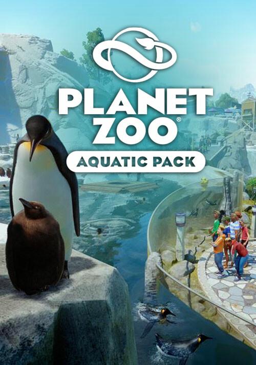 Planet Zoo: Aquatic Pack - Cover / Packshot