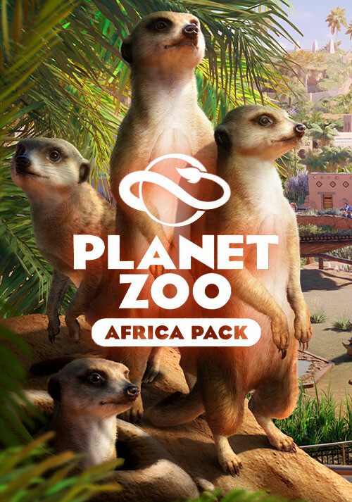 Planet Zoo: Africa Pack - Cover / Packshot
