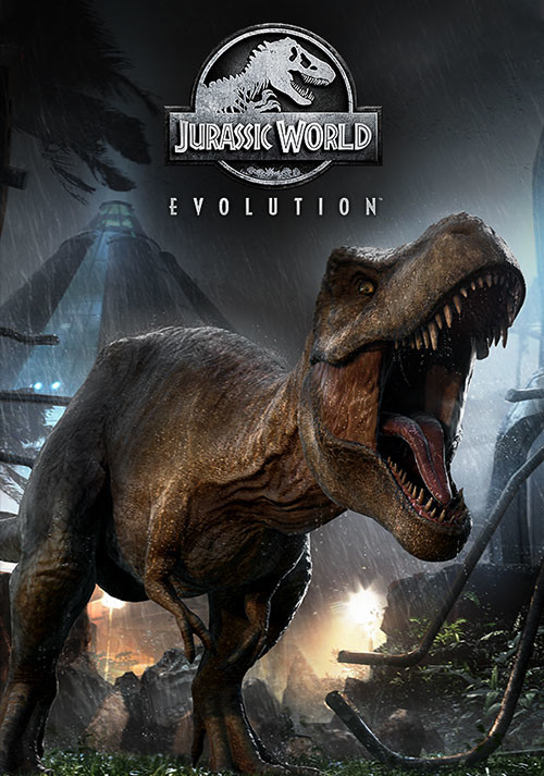 Jurassic World Evolution - Cover / Packshot