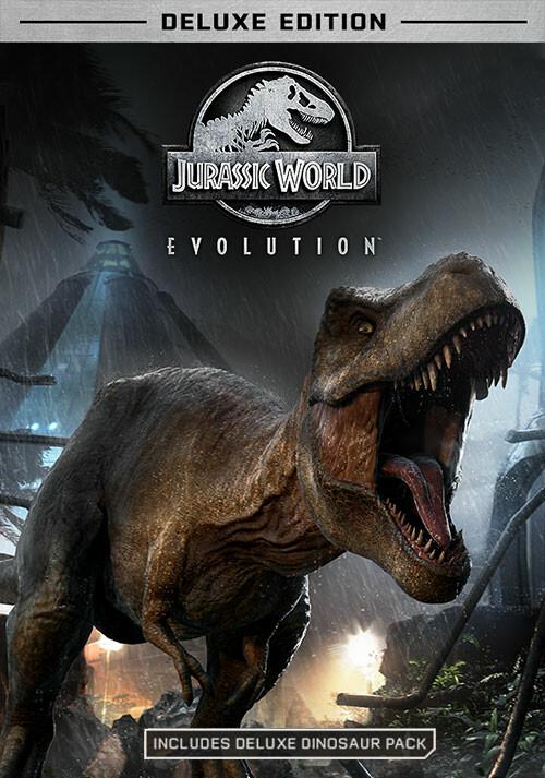 Jurassic World Evolution - Deluxe Edition - Cover / Packshot