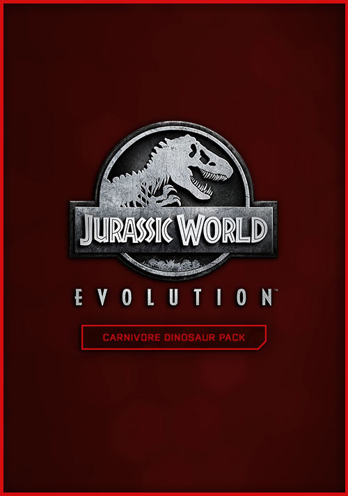 Jurassic World Evolution: Carnivore Dinosaur Pack - Cover / Packshot