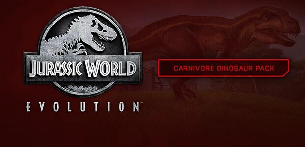 Jurassic World Evolution: Carnivore Dinosaur Pack - Cover / Packshot