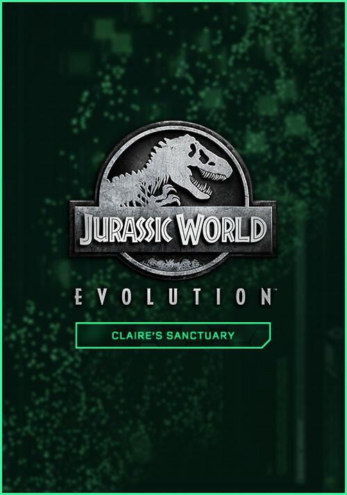 Jurassic World Evolution: Claire's Sanctuary - Cover / Packshot