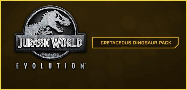 Jurassic World Evolution: Cretaceous Dinosaur Pack - Cover / Packshot