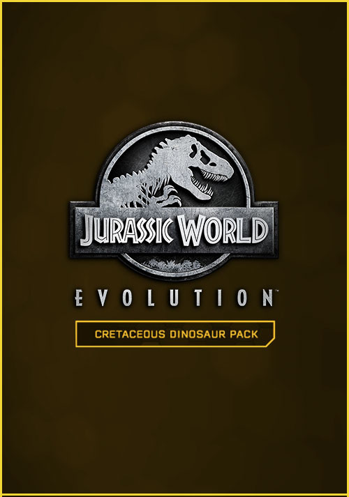Jurassic World Evolution: Cretaceous Dinosaur Pack - Cover / Packshot