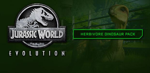 Jurassic World Evolution: Herbivore Dinosaur Pack - Cover / Packshot
