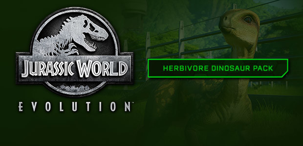 Jurassic World Evolution: Herbivore Dinosaur Pack - Cover / Packshot