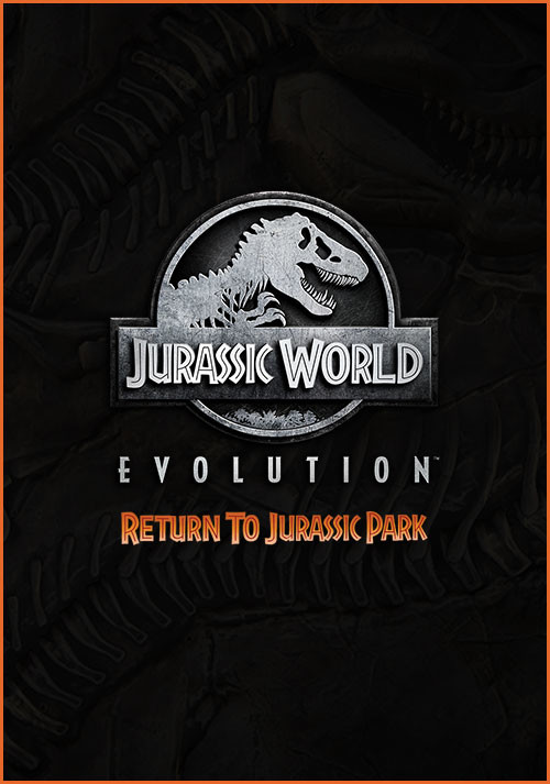 Jurassic World Evolution: Return To Jurassic Park - Cover / Packshot