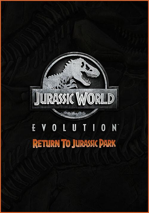 Jurassic World Evolution: Return To Jurassic Park - Cover / Packshot
