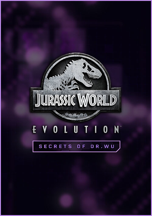 Jurassic World Evolution: Secrets of Dr Wu - Cover / Packshot