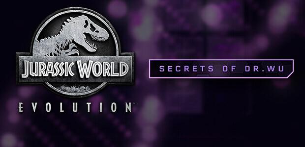 Jurassic World Evolution: Secrets of Dr Wu - Cover / Packshot