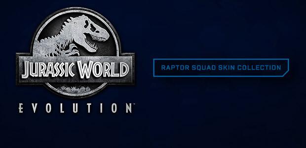 Jurassic World Evolution: Raptor Squad Skin Collection - Cover / Packshot