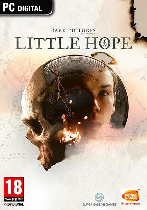 The Dark Pictures Anthology: Little Hope - Cover / Packshot