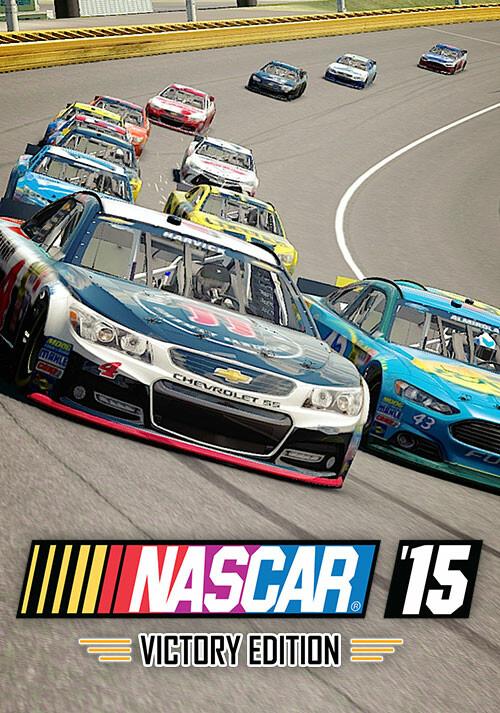 NASCAR '15 Victory Edition - Cover / Packshot
