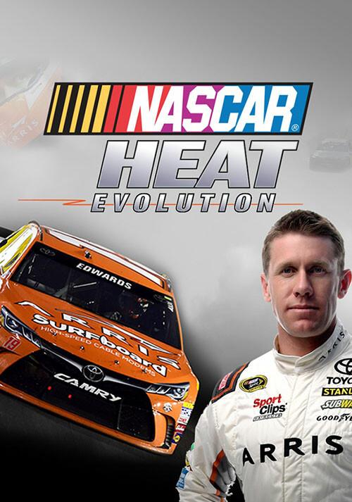 NASCAR Heat Evolution - Cover / Packshot