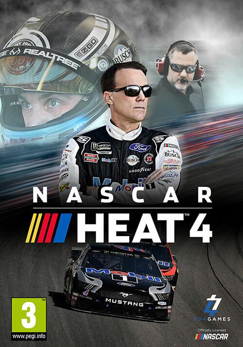 NASCAR Heat 4 - Cover / Packshot