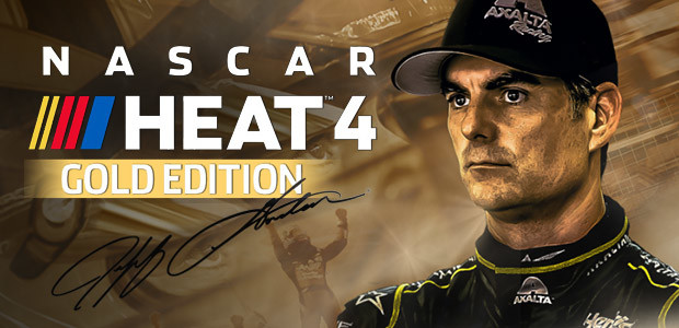 NASCAR Heat 4 Gold Edition - Cover / Packshot