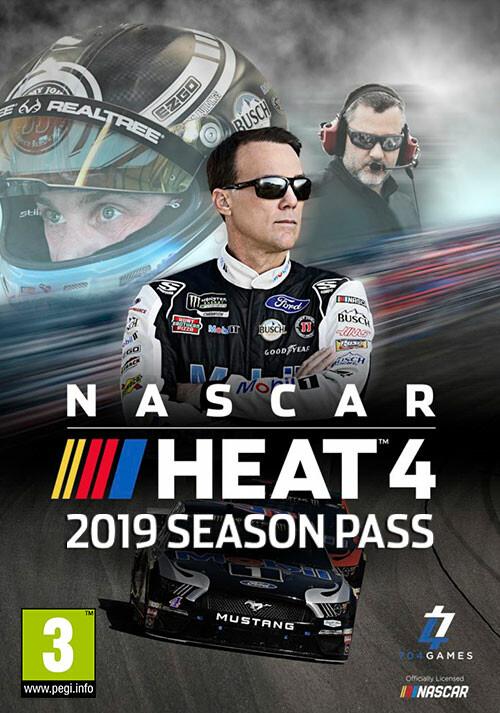 NASCAR Heat 4 - Season Pass - Cover / Packshot