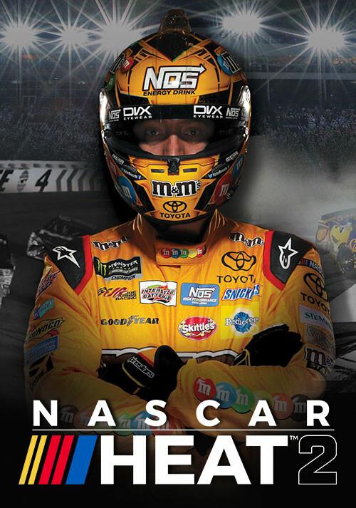 NASCAR Heat 2 - Cover / Packshot