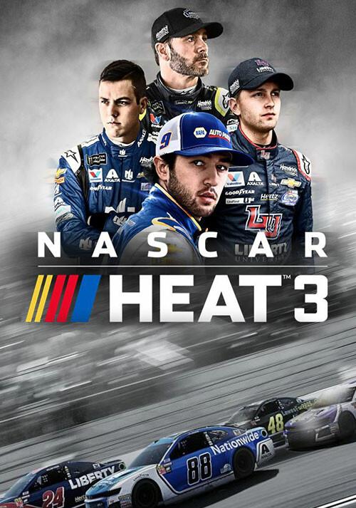 NASCAR Heat 3 - Cover / Packshot