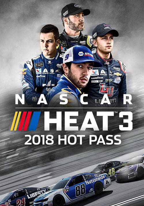 NASCAR Heat 3 - 2018 Hot Pass - Cover / Packshot