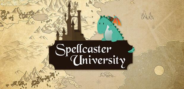 Spellcaster University - Cover / Packshot