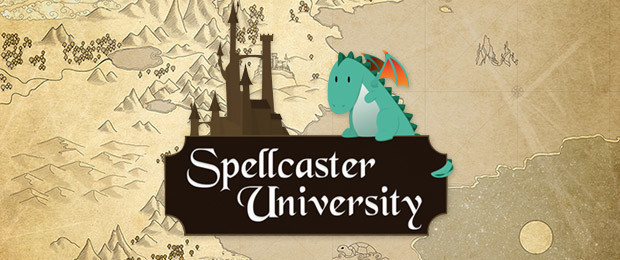 Le Joueur du Grenier fait découvrir Spellcaster University