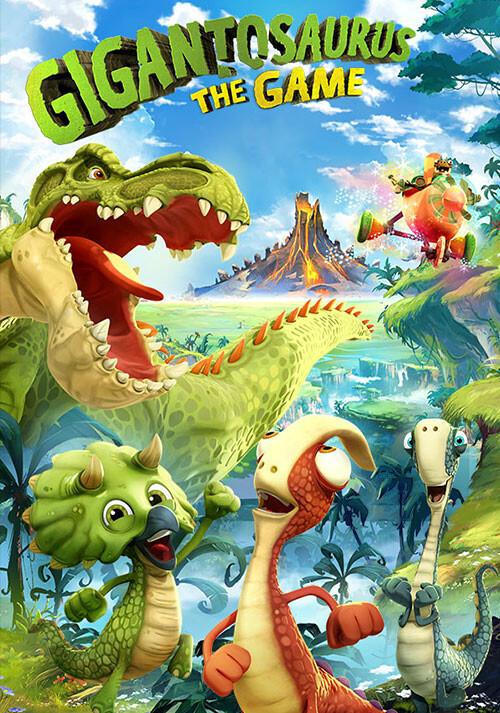Gigantosaurus The Game - Cover / Packshot