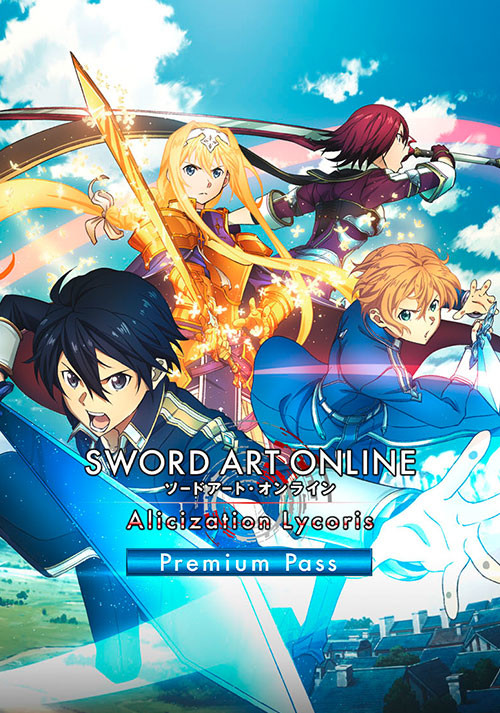 SWORD ART ONLINE Alicization Lycoris Premium Pass - Cover / Packshot