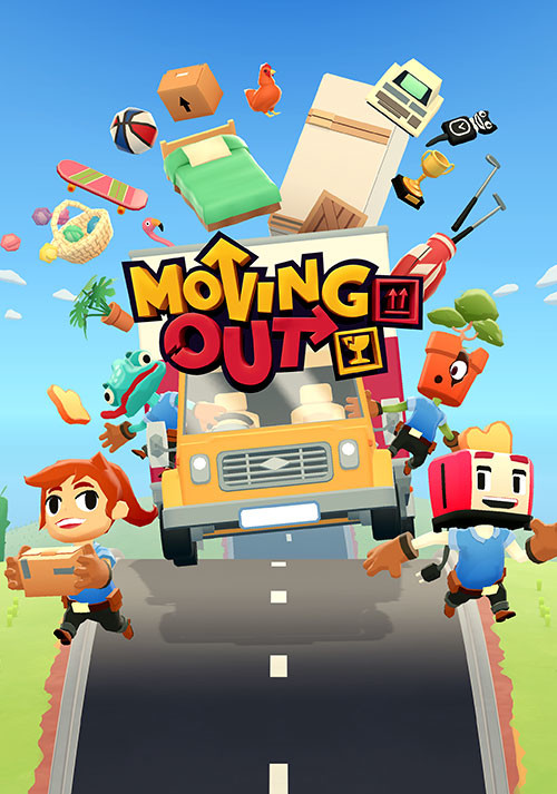 Moving Out - Cover / Packshot